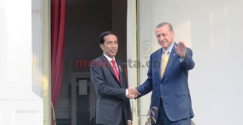 Erdogan & Jokowi Sahabatan Sejak Sama-sama Wali Kota