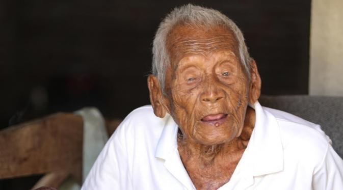 Mbah Gotho, Manusia Tertua di Dunia Asal Jawa Tengah