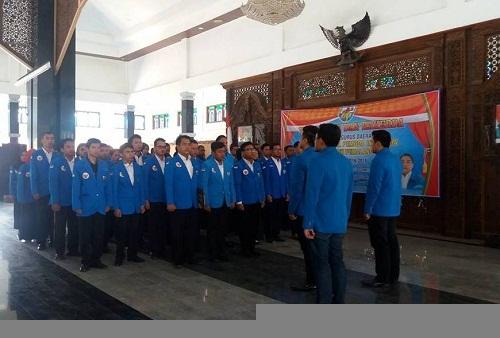 Pengurus DPD KNPI Pemalang periode 2016-2019