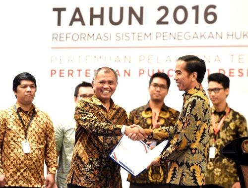 Pemberantasan Korupsi Terus Dilakukan, Presiden Jokowi: Saya Dukung Penguatan KPK