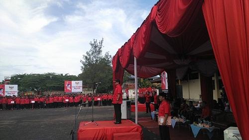 Sambutan Ketua PDIP Pemalang