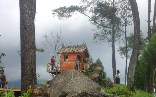 Keren, Objek Desa Wisata Gunung Kukusan Di Pemalang Seperti Di Alam Khayal