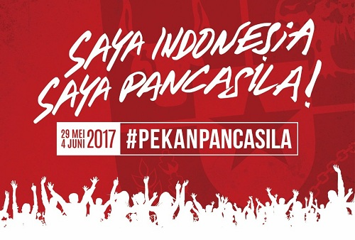 Peringatan 1 Juni, Presiden Jokowi Usung Tema : Saya Indonesia, Saya Pancasila !