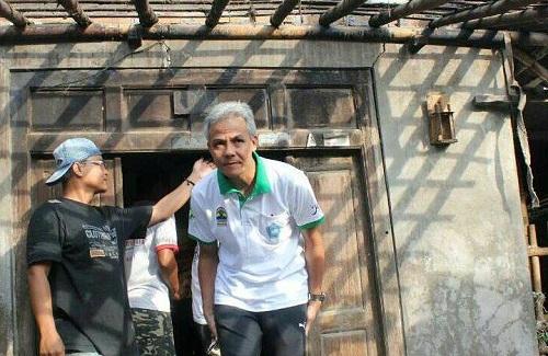 Tahun Ini Gubernur Ganjar Target Bedah 20.000 Rumah Tak Layak Huni