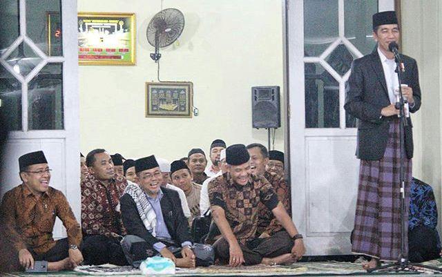 Ini Yang Jad Viral dan Bikin Jokowi Kagum Dengan Pondok Pesantren Darussalam Purwokerto