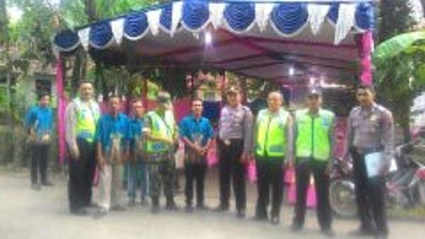 Team Supervisi Polres Pemalang Ke Sub Pos Pam GBI Widodaren
