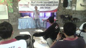 Basis Nilai inilah Yang Menggerakkan Relawan Seknas Jokowi Jawa Tengah