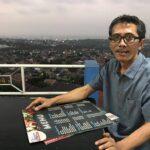Bambang Mugiarto dengan Latar Kota Semarang yang Indah