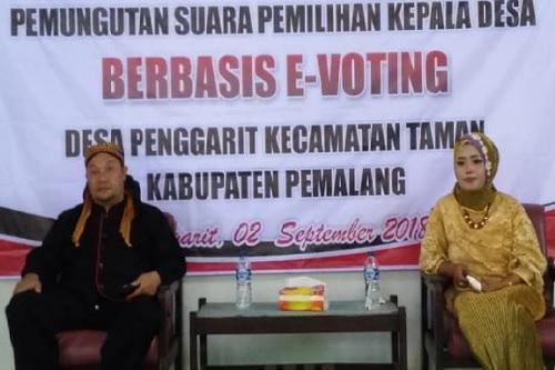 Kalaidoskop Pilkades 2018 : Unik, Empat Calon Kades Ini Bertarung Melawan Istrinya Sendiri