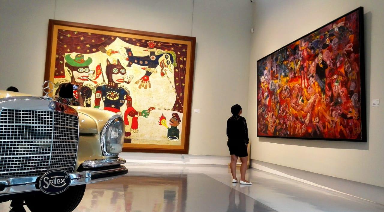 Sejumlah Koleksi Lukisan Milik Museum Tumurun Solo
