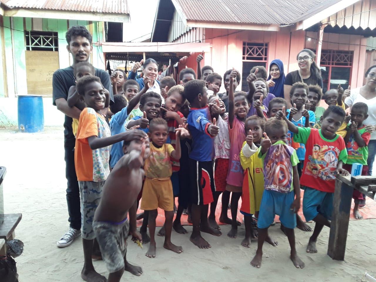 Anak - Anak Binaan Relawan Peduli Anak Bangsa