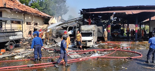 Ledakan Gudang Brimob Ramai Di Bicarakan Natizen