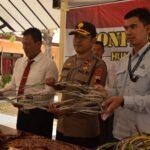Polisi Bekuk Dua Pencuri Kabel Exit Tol Gandulandan Pemalang