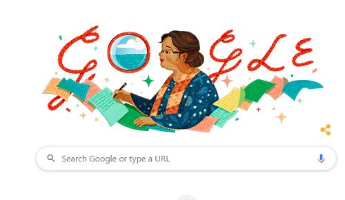 Ini Mengapa MH Dini Tampil Sebagai Google Doodle