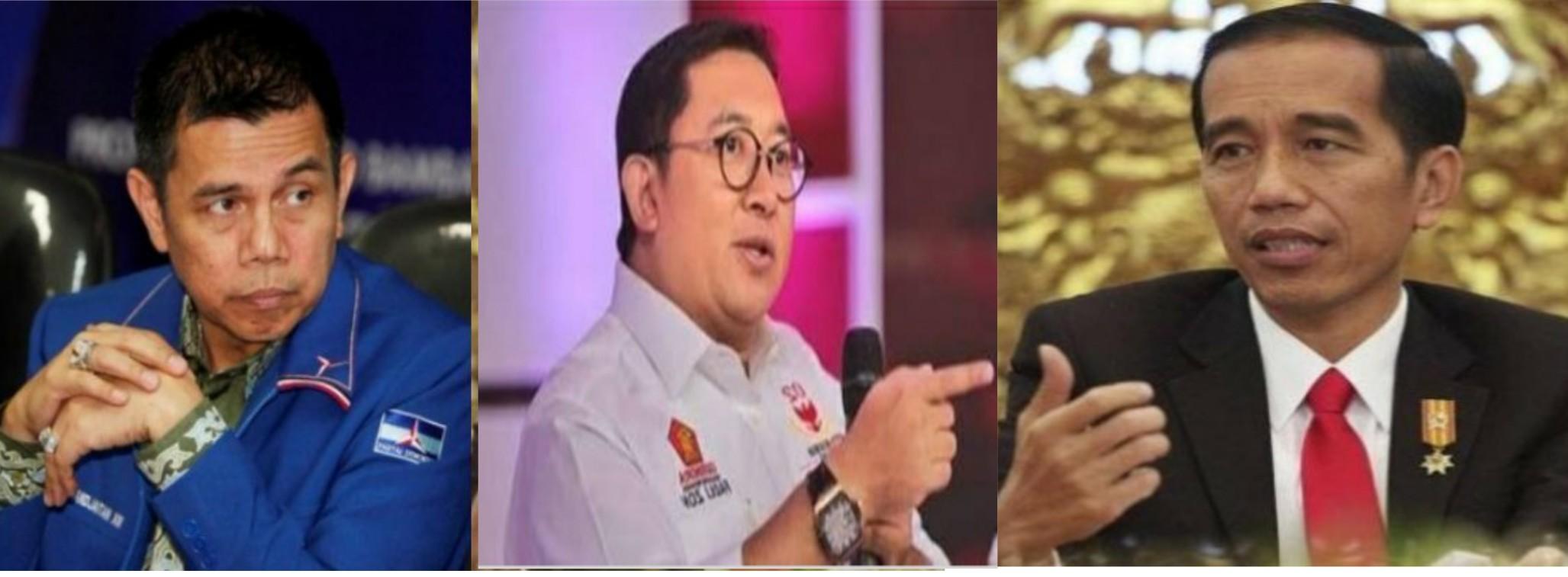 """Jokowi Mendapat Tantangan Keras dari """"Fadli Zon dan Hinca Pandjaitan"""""""