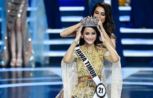 Roro Ayu Maulida Putri Juara Pemilihan Putri Indonesia 2020