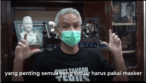 Setelah Ganjar Pranowo, Kini Pemerintah Haruskan Warga Pakai Masker Saat Keluar Rumah