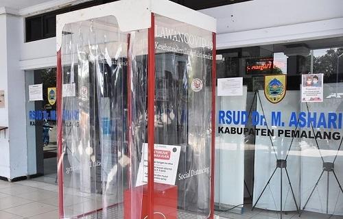 RSUD dr. M. Ashari Kabupaten Pemalang Jadi Rujukan Pemeriksa Covid-19 Gunakan Mesin TB-TCM