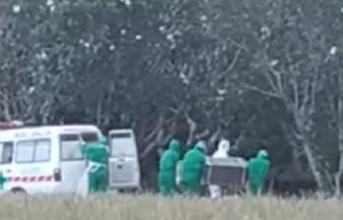 Sore Itu di Pekuburan Taman : Pemakaman Jenazah PDP Corona Sunyi, Ini Riwayat Pasien Sebelum Meninggal