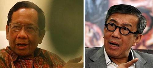 Beda Pandangan Mahfud MD dan Yasonna Laoly, Ini Alasan Kedua Menteri Jokowi Soal Pembebasan Napi Korupsi