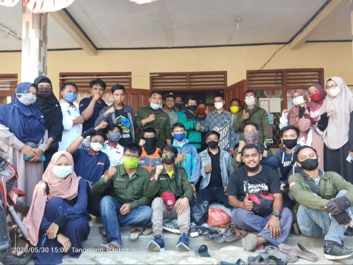 Banjir di Kronjo Kabupaten Tangerang, Sinergis Komunitas Sosial SeTangerang Raya Turun Aksi Solidaritas