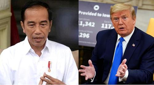 Luhut Bongkar Rahasia Percakapan Jokowi dengan Presiden Trump Soal Brebes