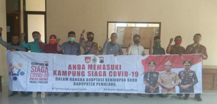 Menuju New Normal, Desa Siremeng Pemalang Deklarasikan Kampung Siaga Covid-19