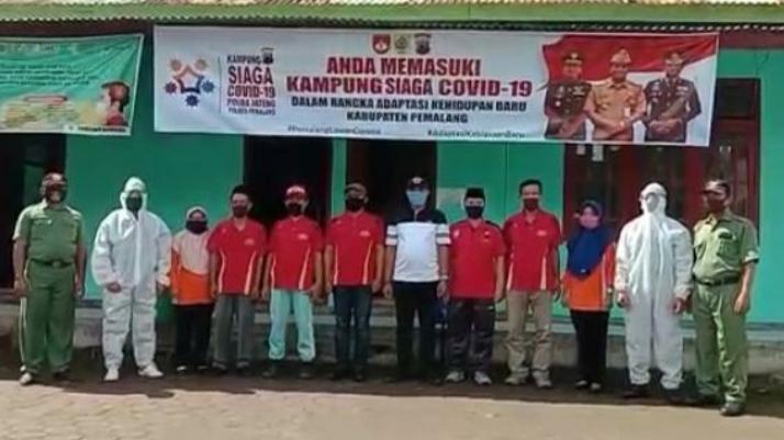 Menyongsong Adaptasi Kehidupan Baru, Desa Gendoang Pemalang Deklarasikan Kampung Siaga Covid-19