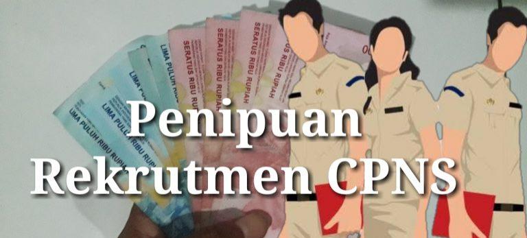 Penipuan Berkedok Perekrutan CPNS, Setoran Korban Capai Rp 1 Miliar