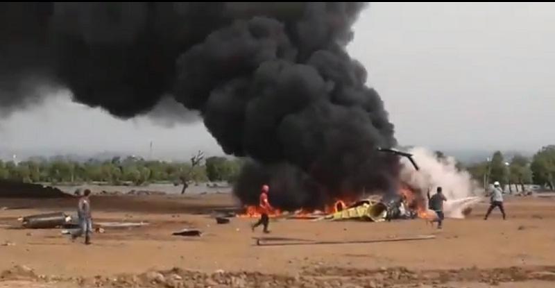 Helikopter TNI AD Jatuh di Kendal, 4 Orang Meninggal, 5 Selamat, Begini Kronologinya