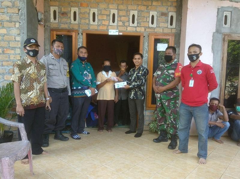 BLT Dana Desa Kampung Sriwijaya, Way Kanan di Cairkan 2 Bulan Sekaligus