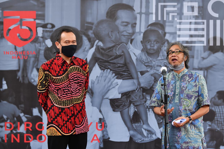 Butet dan Cak Lontong Juga Raffi Ahmad ke Istana Negara, Ngapain Yah Mereka?