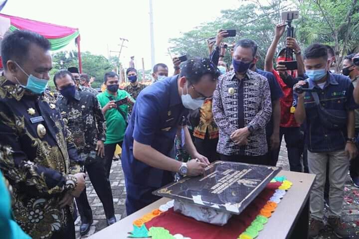 Resmi! Umpu Semenguk Jadi Kecamatan Ke – 15 di Kabupaten Waykanan