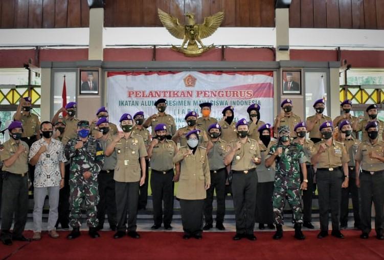 Bupati Tegal Harap Resimen Mahasiswa Dihidupkan Kembali untuk Menanamkan Patriotisme dan Cinta Tanah Air