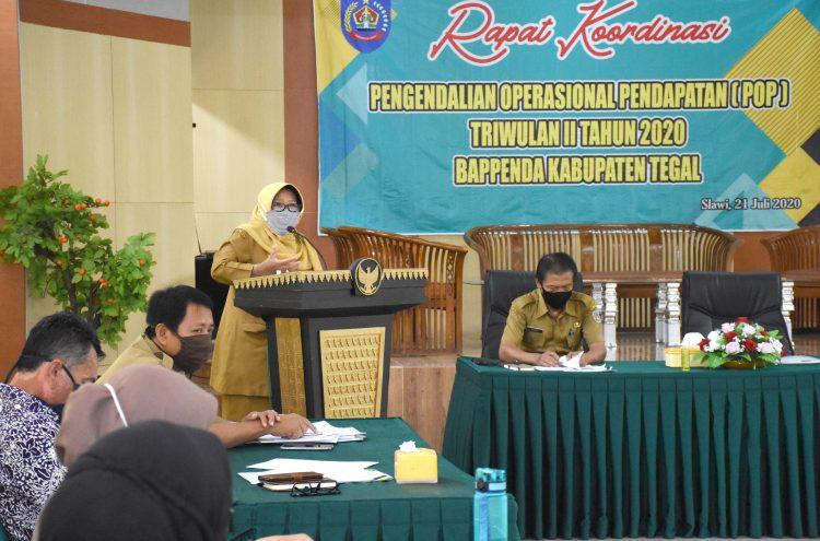 Dampak Pandemi Covid 19, Penghasilan Asli Daerah Kabupaten Tegal Menurun 3 Persen, Ini Penjelasanya.