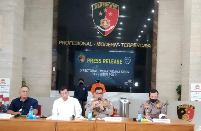 Hacker Peretas 1.309 Situs Lembaga Negara dan Jurnal Ilmiah Ditangkap di Yogyakarta