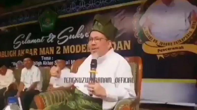Viral ! Ceramah Ustaz Tengku Zulkarnain Singgung Adat Jawa, Tagar #Jawa Trending Topik