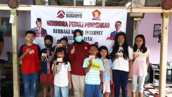 Gerindra Peduli Pendidikan: Berbagi Kuota Internet Bagi Pelajar