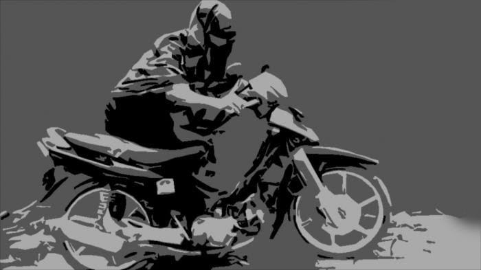 Ditinggal Kawannya, Pencuri Motor di Nyalembeng Pulosari Pemalang Babak Belur Dihajar Massa