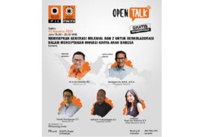 Webinar Forum Insinyur Muda PII (FIM PII), Kolaborasi Generasi Milenial dan Z Dalam Penciptaan Inovasi Karya Anak Bangsa